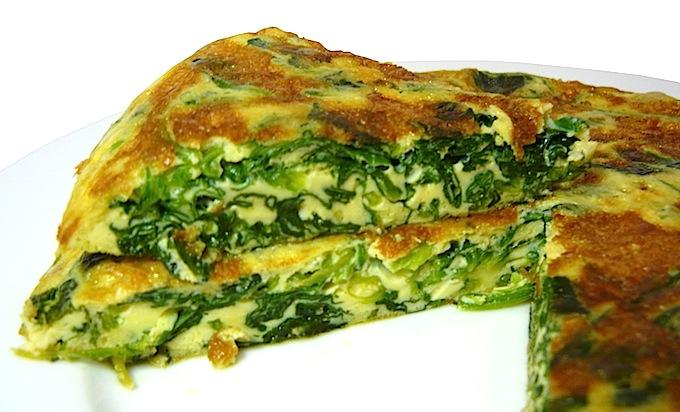 Resultado de imagen para tortilla de espinaca