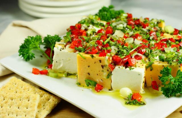 Marinated Cheese 7